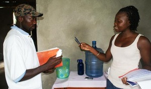 Lauciane, Tdh beneficiary in Haiti