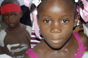 Haïti - Natasha, bénéficiaire de Tdh en Haïti
