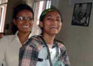Tika, Tdh beneficiary in Nepal