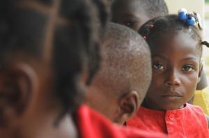 Jeanna, Tdh beneficiary in Haiti