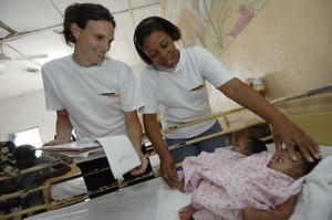 Léger, Tdh beneficiary in Haiti
