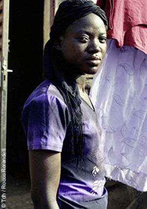 Olivia, bénéficiaire de Tdh au Burkina Faso