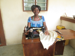 Togo - Afi, Tdh beneficiary in Togo